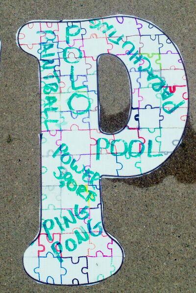 Letter P Puzzel