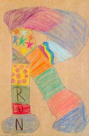 Letter R prototype
