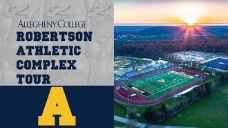 Allegheny College Robertson Athletic Complex Tour