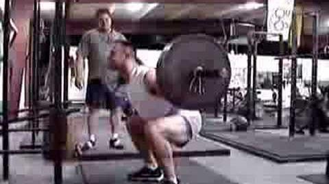 Mark Rippetoe Coaching the Squat 2