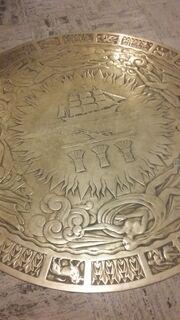 Allegheny County Seal on floor Grant street