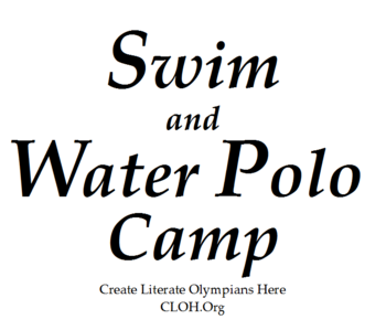 Swim and Water Polo -logo
