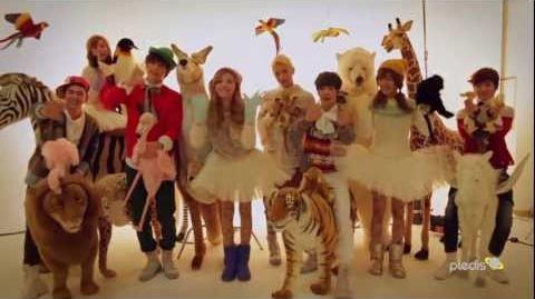 ORANGE CARAMEL - 흰눈 사이로 하이힐 타고 (feat.NU'EST)