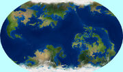 Fictional world map by string fountain-d669m1k