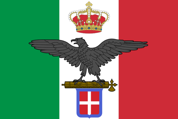 Flag of the Italian Empire (Giovinezza)