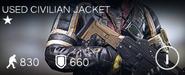 Used Civilian Jacket
