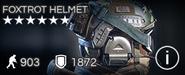 Foxtrot Helmet
