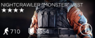 "Nightcrawler ""Monster"" Vest"