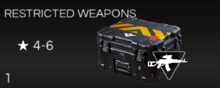 Restricted Weapons Crate