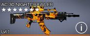 AC 30 Nightcrawler 7 star