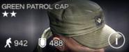 Green Patrol Cap