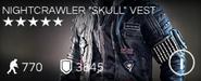"Nightcrawler ""Skull"" Vest"