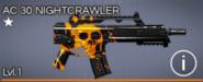 AC 30 Nightcrawler 1 star