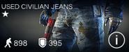 Used Civilian Jeans