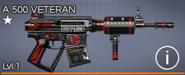 A 500 Veteran 1 star
