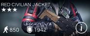 Red Civilian Jacket