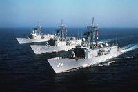 Defiant-class FFGs 1982
