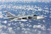 Sukhoi Su-24 inflight Mishin