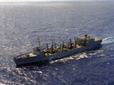 Wichita class replenishment oiler