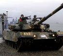 K1/87 Tank