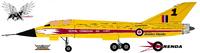 Golden Hawks CF-105 Arrow