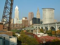 Cleveland from Superior Viaduct