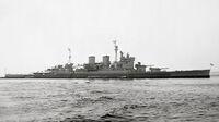 HMS Renown 1945