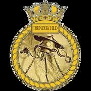 HMS Thunderchild crest