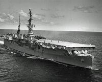 USS Saipan CVL-48 1956