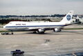 Pan Am Boeing 747-121; N733PA@MIA; February 1987 BQR (5553295904).jpg