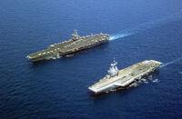 APNS Yorktown and MN Charles de Gaulle