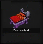 Draconic Bed