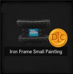 Iron Frame Small Painting
