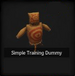 Simple Training Dummy