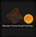 Wooden Frame Small Painting