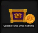 Golden Frame Small Painting