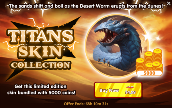 Titans-skin-collection-offer-desert-worm