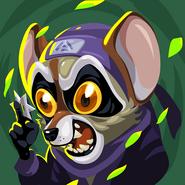 Beast fighters ii skin raccoon jutsu hi