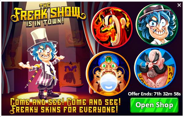 The-freak-show-offer