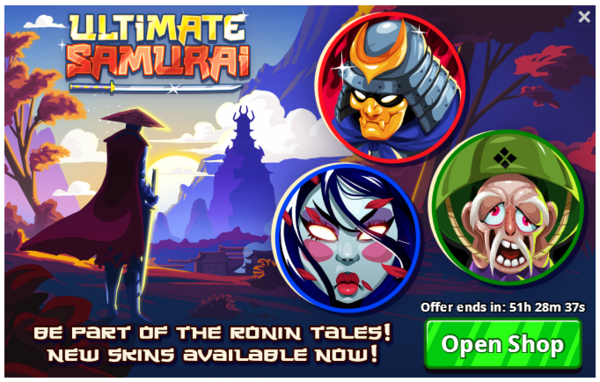 Ultimate-samurai-offer