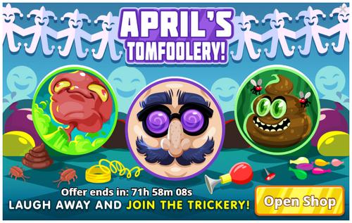 Aprils tomfoolery