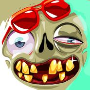 Zombie party dry face hi