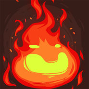 Stone age fire face hi