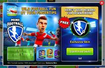 Mini Football - Claim Free Skin! (HQ)