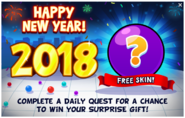 Happy New Year! 2018 - Offer