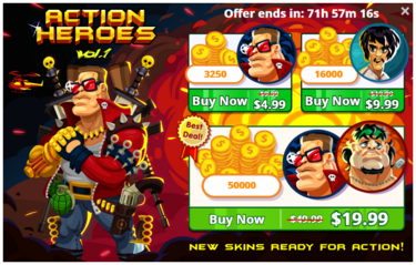 Action Heroes! Vol. 1 - Offer