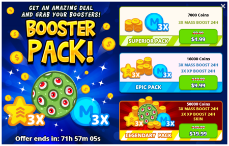Booster-pack-offer