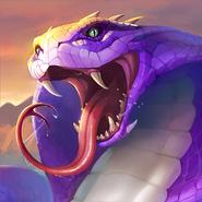 Titan giant snake