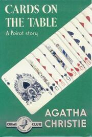 Cards on the Table First Edition Cover 1936