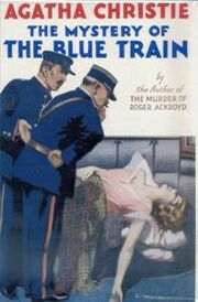 The Mystery of the Blue Train First Edition Cover 1928